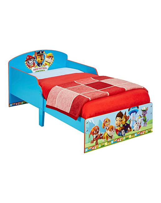 Paw Patrol Toddler Bed Oxendales