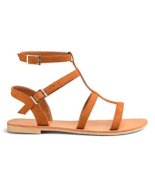 f7b83919a69 Sofia Gladiator Sandals Wide Fit