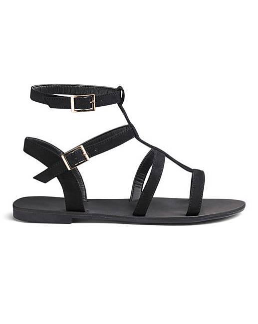 1e0e4465d9f Sofia Gladiator Sandals Extra Wide Fit