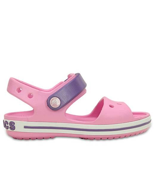 41fbbe8cea1 Crocs Crocband Sandal Girls Sandals