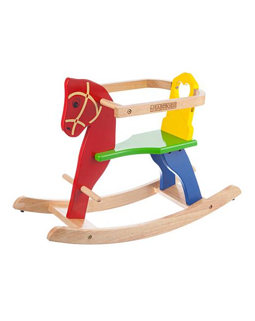Personalised Wooden Rocking Horse