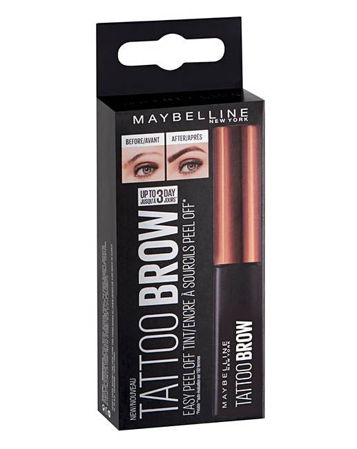 8b2d425b2 Maybelline Tattoo Brow Lasting Gel Tint | Oxendales