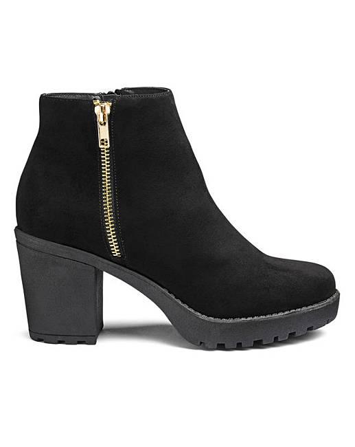 62f0275179e Kate Chunky Boot E Fit