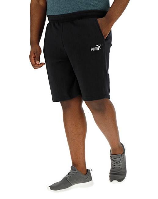 e6ddd1d84 Puma Black Essential Sweat Shorts   Jacamo