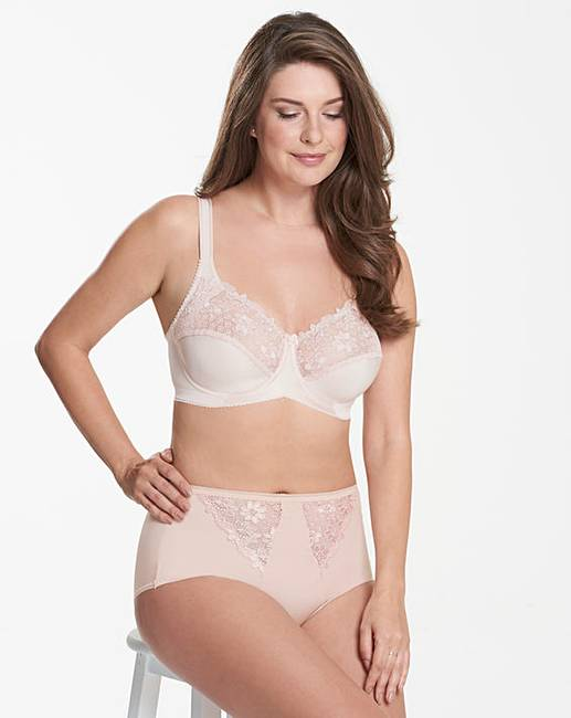c146cd046e Miss Mary Full Cup Wired Embroidered Bra. Click to view  Miss Mary of  Sweden  products. Rollover image to magnify
