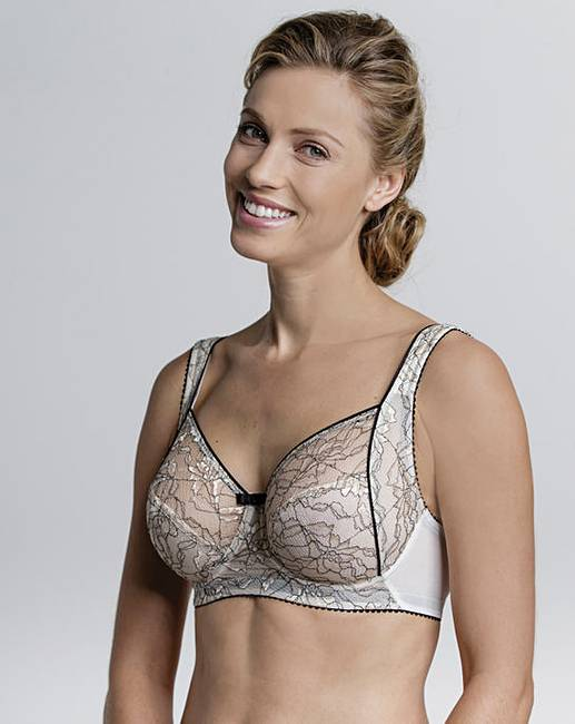 71f3a4119e1 Miss Mary Contrast Lace Wired Bra