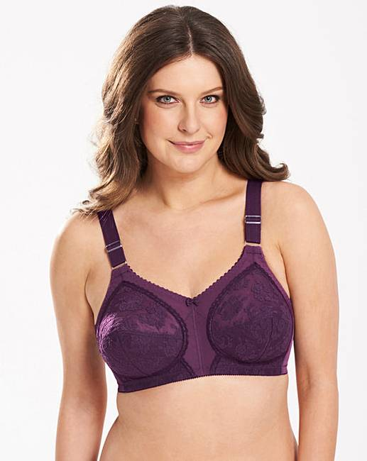 a926de70c3263 Triumph Doreen Non Wired Plum Bra