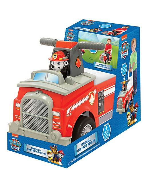 Paw Patrol Marshal Fire Truck Ride On