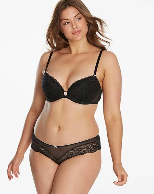 3e3f311c783 Ann Summers Sexy Lace Black Plunge Bra | Fashion World