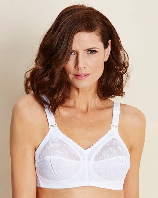 6dae3fbe424 PRESS Triumph Doreen White Bra
