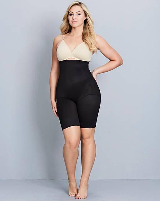 1e41bd36076 Naomi   Nicole Fuller Figure Hi Waist Black Thigh Slimmer
