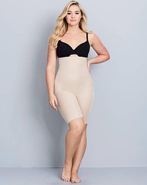 c0ddd39cecc Naomi   Nicole Fuller Figure Nude Hi Waist Thigh Slimmer