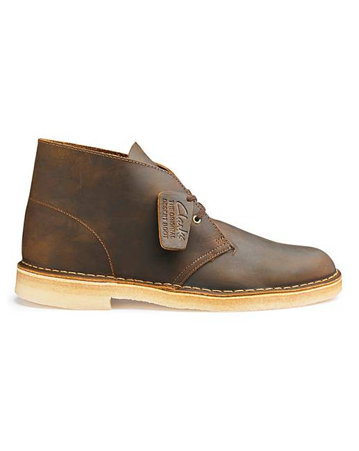e5e92136 Clarks Originals Leather Desert Boots