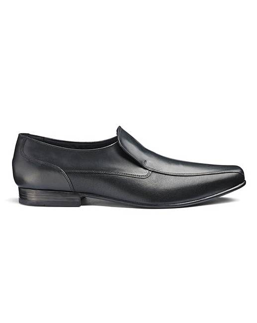 74b47bb28 Formal Leather Slip Ons EW Fit