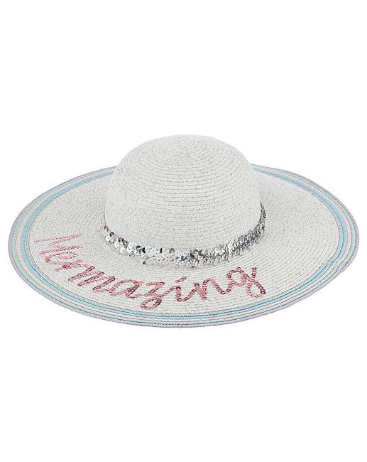 0909e1e08 Monsoon Mermaid Sequin Floppy Hat