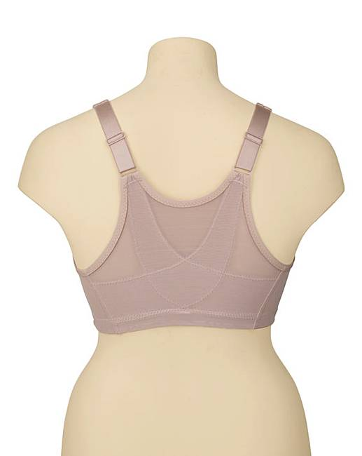 ee0ac474dbd3d Glamorise Back Support Non Wired Skin Bra. Click to view  Glamorise   products. Rollover image to magnify