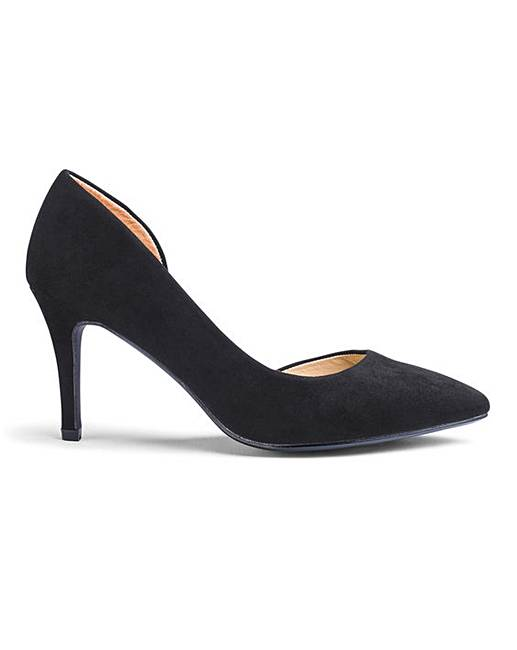 f5fd57ed701 Heavenly Soles Court Shoes EEE Fit
