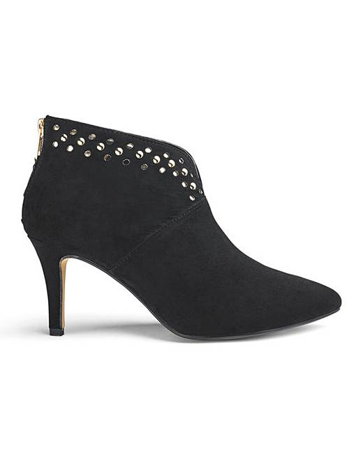 b07a018c7c9 Stud Detail Ankle Boots EEE Fit