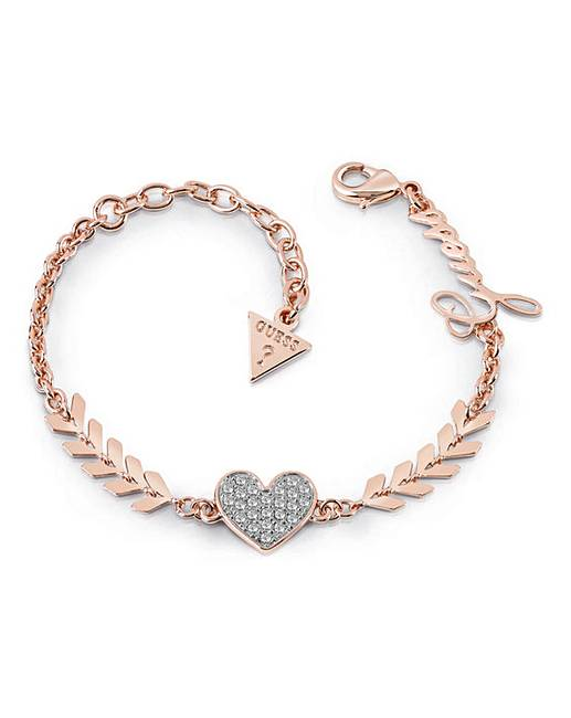832efe12dbf9f5 Guess Cupid Bracelet - Rose-tone