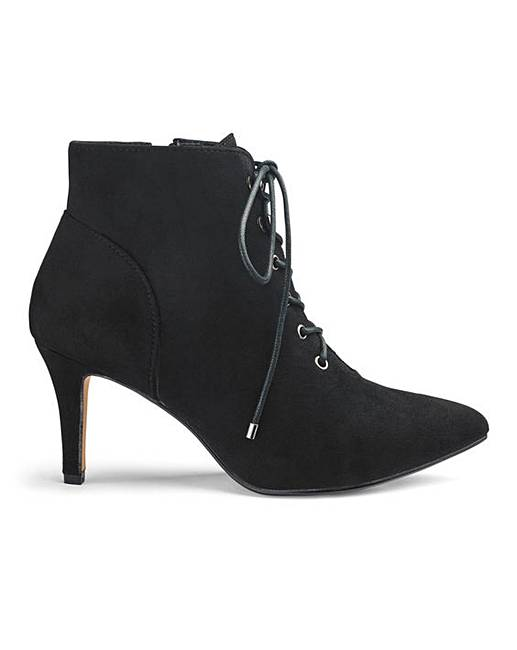 b88e859e75 Lace Up Ankle Boots EEE Fit | J D Williams