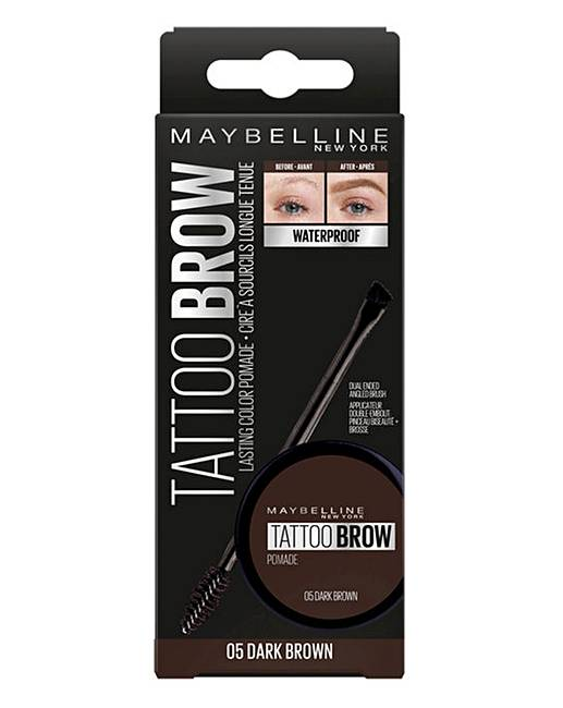 cd4a11c7748 Maybelline Tattoo Brow Pomade Dark Brown | Fashion World