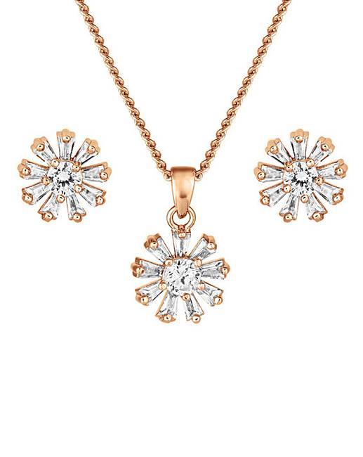 1854178aa1597 Buckley London Finchley Jewellery Set