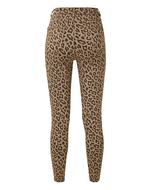 e7e1fea7e71a Leopard Print Chloe High Waist Skinny Jeans Regular Length