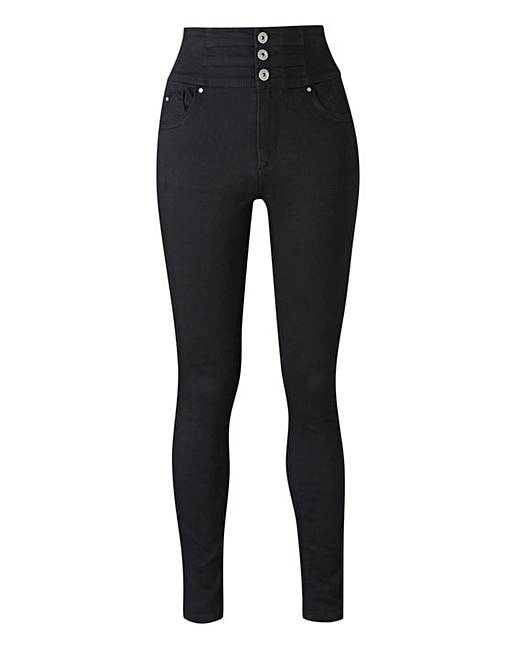 Shapeamp; Sculpt Skinny Black JeansSimply Be iuZOPkXT
