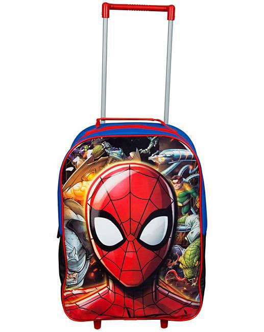 eeb9cb7087466 Marvel Spider-Man Trolley Bag