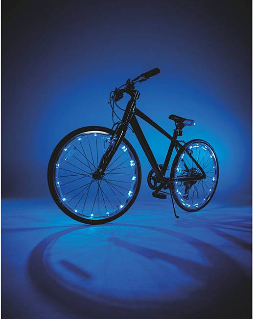 JML Wheely Bright LED Bike Lights - Pink