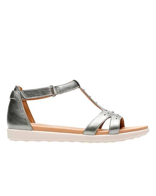 Metallic leather 'Un Reisel Mara' sandals release dates sale online low price fee shipping sale low price fee shipping discount collections for sale finishline rMo8RVTFz