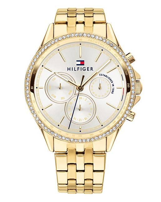 0d6d5011 Tommy Hilfiger Gold-tone Ladies Watch | Oxendales