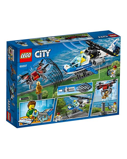 Lego City Sky Police Drone Chase Oxendales