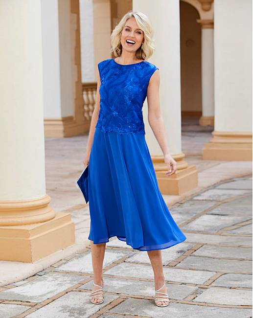 d4fca25c3ea7 Nightingales Overlay Dress