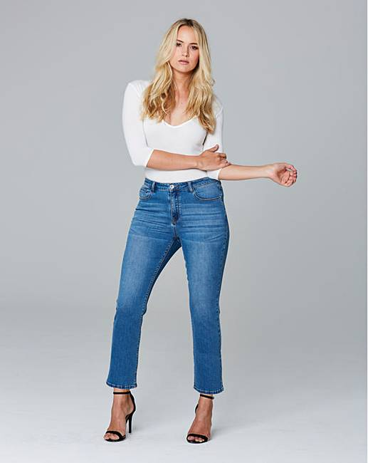 78f7f835 Lily Cropped Bootcut Jeans Regular Length