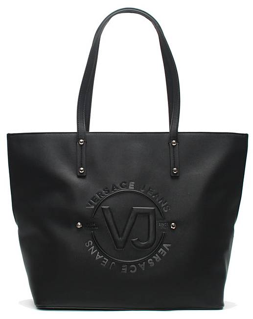 6345bf909cdd Versace Jeans Embossed Shopper Bag