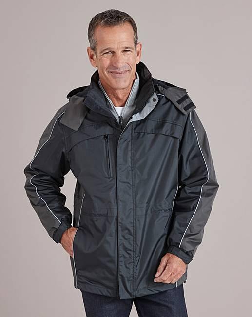 ee8f6073730 Premier Man Black 3 in 1 Jacket R