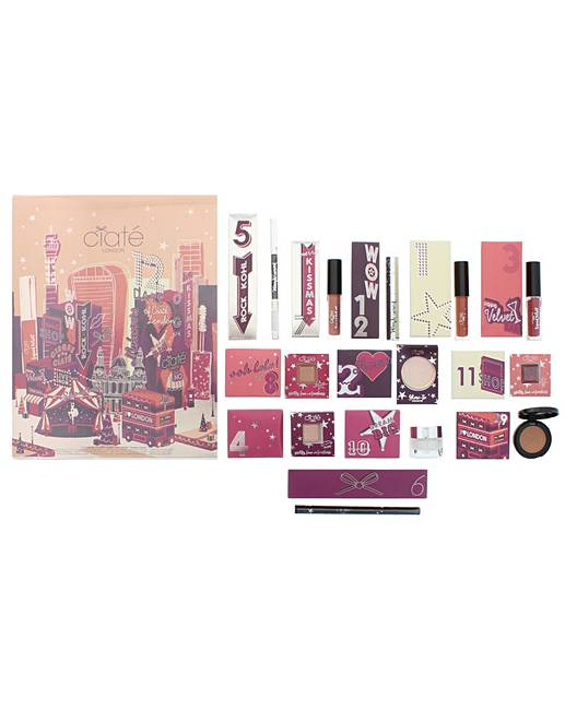Ciate 12 Days Advent Calendar   Gift Set For Her by Fashion World