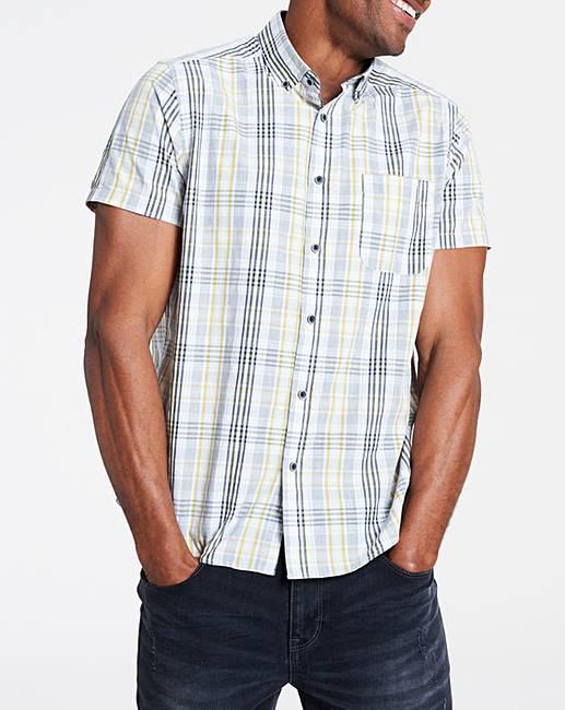 Short Sleeve Check Shirt  7d35ac81d