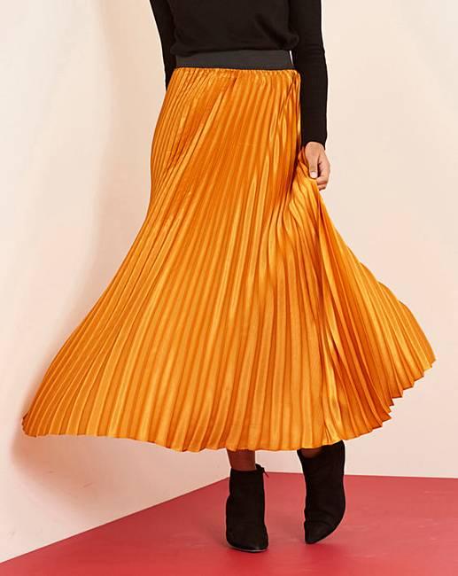 cb4b5175ce9 Sunray Pleat Maxi Skirt