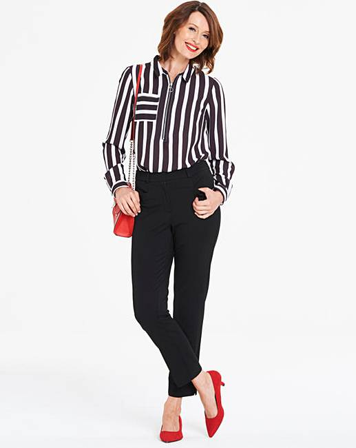 5dfbafd1cf5 Petite Everyday Kate Slim Leg Trousers