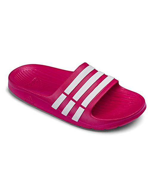 54d0250878bc3 adidas Duramo Slide Junior Sandals