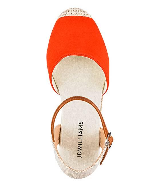 f6b6ef36f6b Espadrille Wedge Sandals E Fit