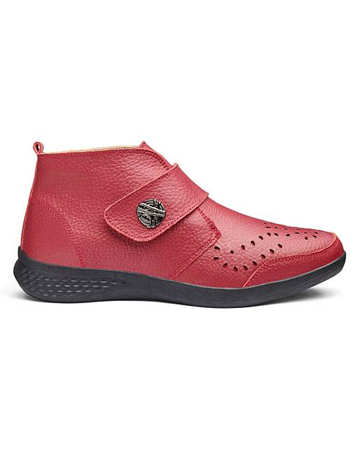 9835cbcfc0b Cushion Walk Leather Ankle Boots E Fit
