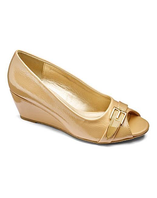 5aefc071d6 Footflex by Lotus Wedge Shoes EEE Fit   Jacamo