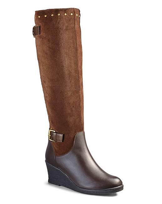 43a62901d6aa Legroom Boots EEE Fit Super Curvy Calf