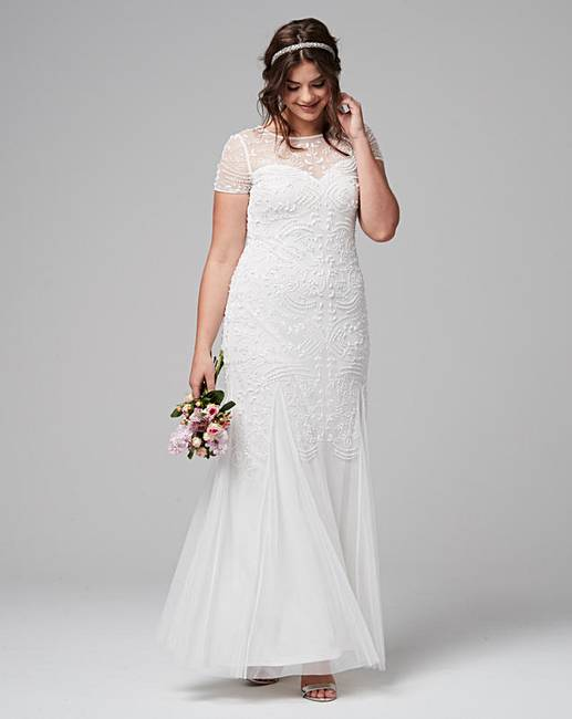 fc2694b15b4 Joanna Hope Beaded Maxi Dress