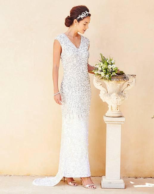 f9eeff2d4450 Joanna Hope Sequin Maxi Dress