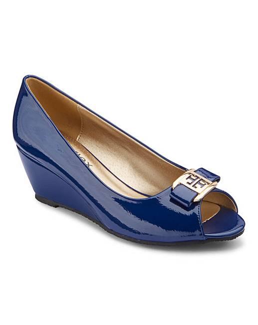 644b312d1dc Footflex by Lotus Peep Toe Shoes E Fit