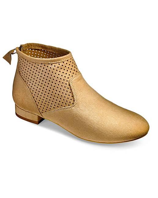 3342520b6b6 Sole Diva Back Zip Boots E Fit
